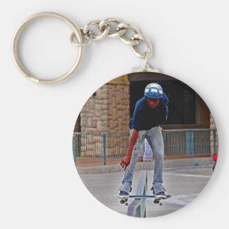 Reiten des Schienen-Extrem-Sports Schlüsselanhänger