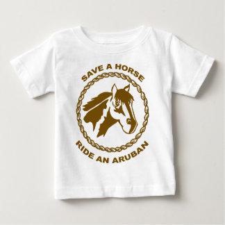 Reiten Sie ein Aruban Baby T-shirt