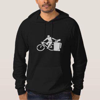 Reiten Sie ein Fahrrad nicht ein Auto Hoodie