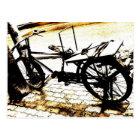 Reiten Sie mein Vintages Fahrrad - Postkarte