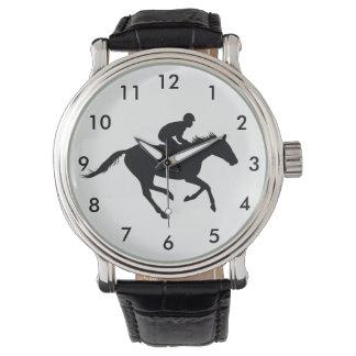 Reiten Thoroughbred Uhr
