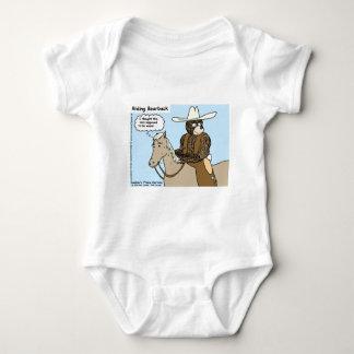 Reitenbärn-zurück lustige Karten-Tassen-T-Shirts Shirts