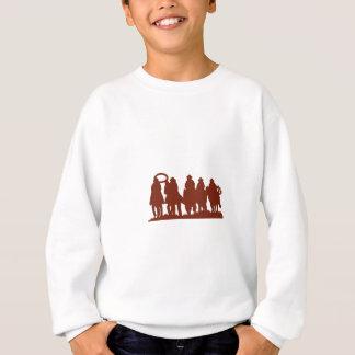 Reiter-Silhouette Sweatshirt