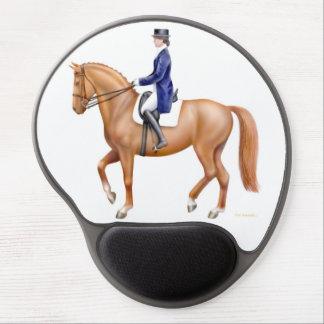 Reiterdressage-Pferdegel Mousepad