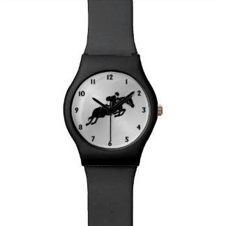 Reiterpullover mit zwölf Zahlen Armbanduhr