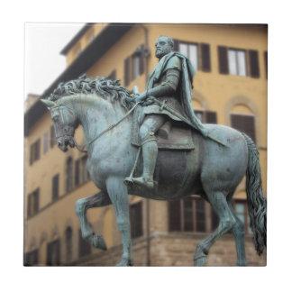 Reiterstatue von Cosimo de Medici, Florenz Fliese