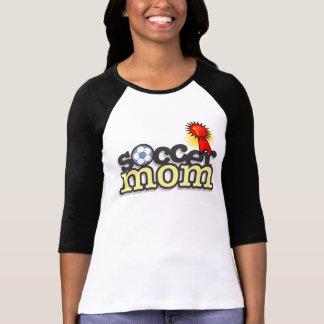 Reizend Fußball-Mamma-T - Shirt - Entwurf #2