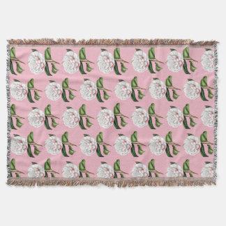 Reizend Kamelien-BlumenWurfs-Decke Decke