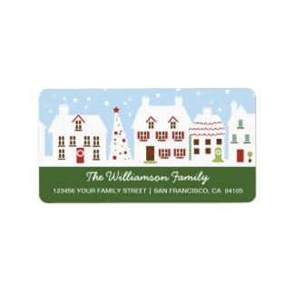 Reizend Nachbarschafts-Adressen-Etikett (Wald) Adressaufkleber