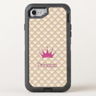 Reizend schicke Perlen, Tiara, Prinzessin, OtterBox Defender iPhone 8/7 Hülle