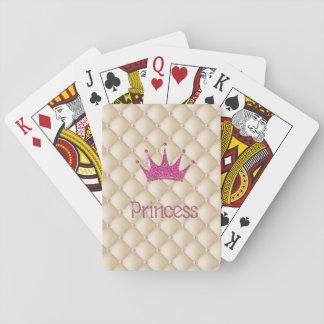 Reizend schicke Perlen, Tiara, Prinzessin, Spielkarten