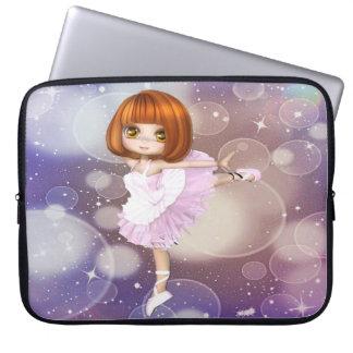 Reizende Ballett-Tänzer-Laptop-Hülse Laptop Sleeve