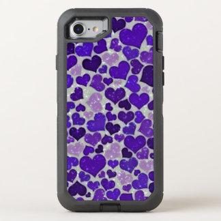 Reizende funkelnde Herzen OtterBox Defender iPhone 8/7 Hülle