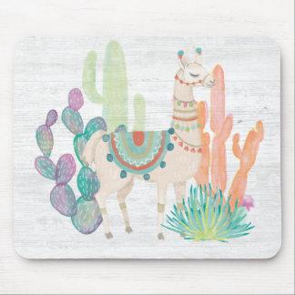 Reizende Lamas II Mousepad