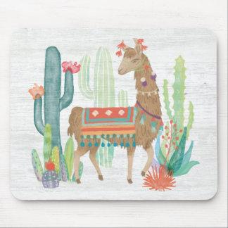 Reizende Lamas III Mousepad