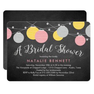 Reizende Laternen-Brautparty-Einladung 12,7 X 17,8 Cm Einladungskarte