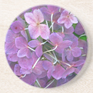 Reizende LavendelHydrangeas Getränkeuntersetzer