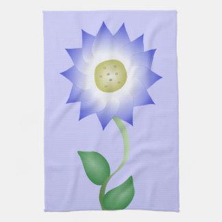Reizende lila Blume Küchenhandtuch