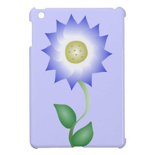 Reizende lila Blume Etui Fürs iPad Mini