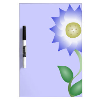 Reizende lila Blume Memo Boards