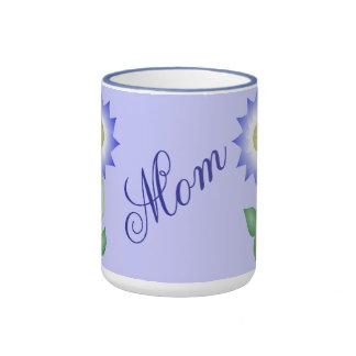 Reizende lila Blume Ringer Tasse
