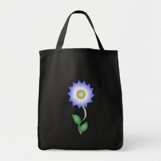 Reizende lila Blume Einkaufstaschen