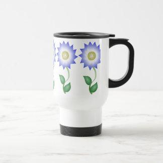 Reizende lila Blume Tee Haferl
