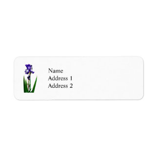 Reizende lila Iris