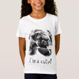 Reizende Playfull Mops T-Shirt