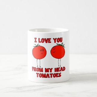 Reizende Tomate-Tasse Kaffeetasse
