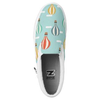 Reizender Ballon-Beleg auf ZIPZ Schuhen Slip-On Sneaker