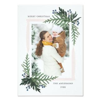 Reizender Feiertag - WeihnachtsFotokarte Karte