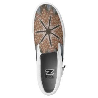 Reizender Gepard-afrikanischer Slip-On Sneaker