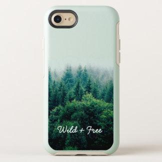 Reizender grüner Wald wild und frei OtterBox Symmetry iPhone 8/7 Hülle
