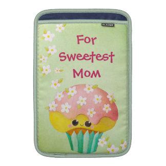 Reizender kleiner Kuchen der Mutter Tages- kundens Sleeve Fürs MacBook Air
