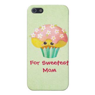 Reizender kleiner Kuchen der Mutter Tages- kundens iPhone 5 Cover