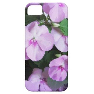 Reizender Lavendel Impatiens Etui Fürs iPhone 5