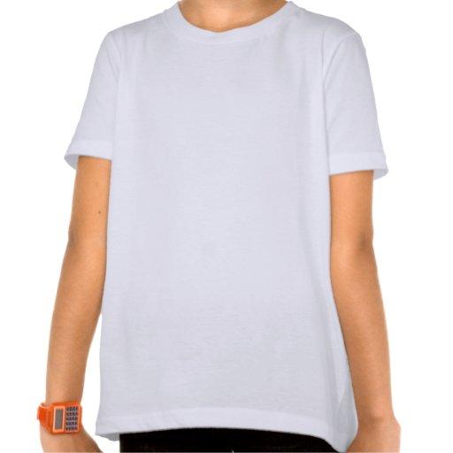 Reizender Marienkäfer-Mädchen-Wecker-T - Shirt