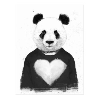 Reizender Panda Postkarte