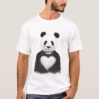 Reizender Panda T-Shirt