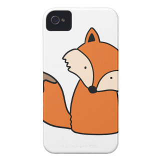 Reizender roter Fuchs iPhone 4 Cover