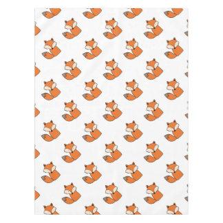 Reizender roter Fuchs Tischdecke