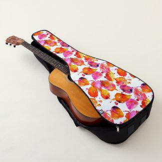Reizender Watercolorherbst verlässt Muster Gitarrentasche