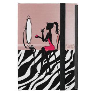 Reizender Zebra-Druck, Band-Bogen, iPad Mini Schutzhüllen