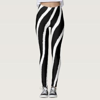 Reizender Zebra Stripes Leggings