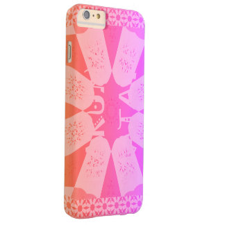 Reizendes Baby-Rosa Barely There iPhone 6 Plus Hülle