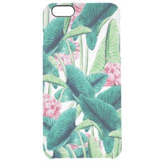 Reizendes botanisches durchsichtige iPhone 6 plus hülle