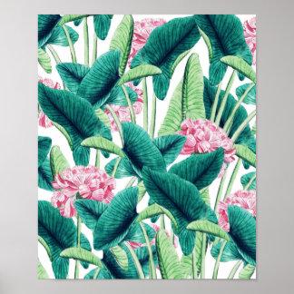 Reizendes botanisches poster