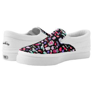 Reizendes Gekritzel Slip-On Sneaker