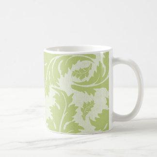 Reizendes Grün-Blätter Tee Tassen